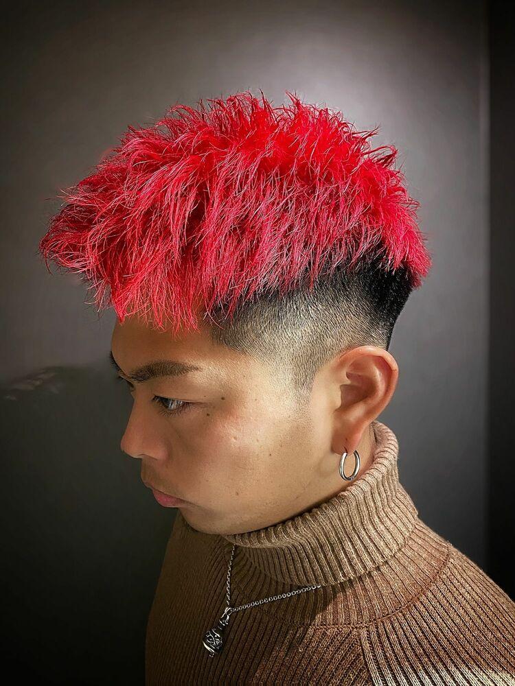 赤髪theアップバング