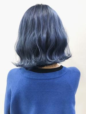 SHACHU shibuya 本店 TOMOice blue bob💙