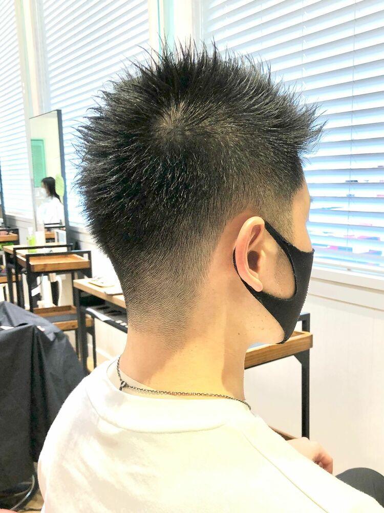 黒髪メンズ20代30代