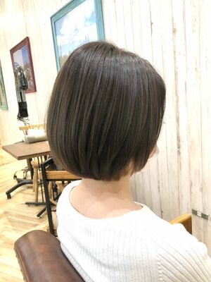 浦和/トライベッカ/カットが上手い◎大人女性の為のショートボブ/ショートヘア/ショートカット