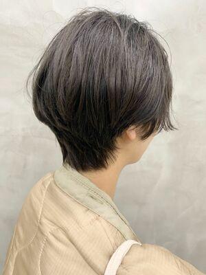 首もとスッキリショート☆トーンダウン