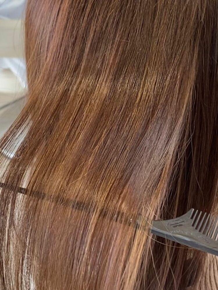 【毎日続く髪質改善】プレミアムストレート