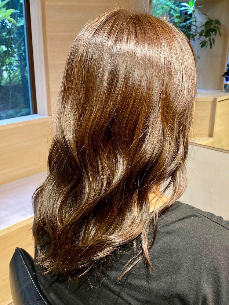 秋の艶髪カラー!