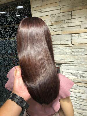 艶髪ミネコラトリートメントショコラブラウン