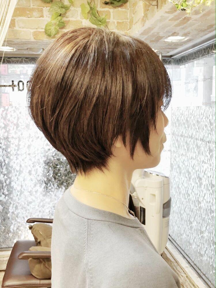 michelle by afloat新宿/山本 雅孝/ラウンドCカーブカットで美フォルムショート