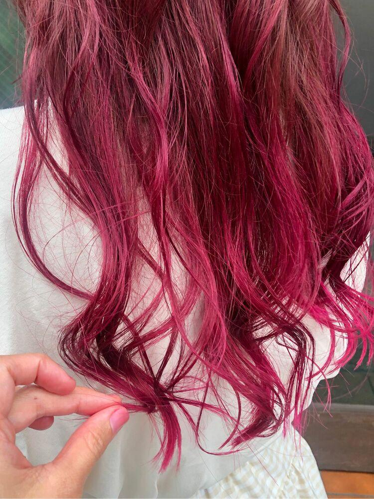 ピンクヘア♡