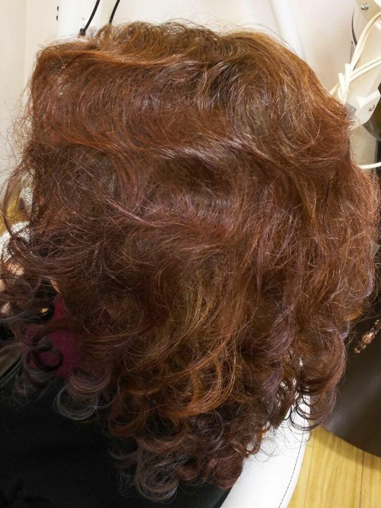 フィンガーウエーブ&カーリーソバージュのイメージがゴウジャスに見えるように逆毛で仕上げました。