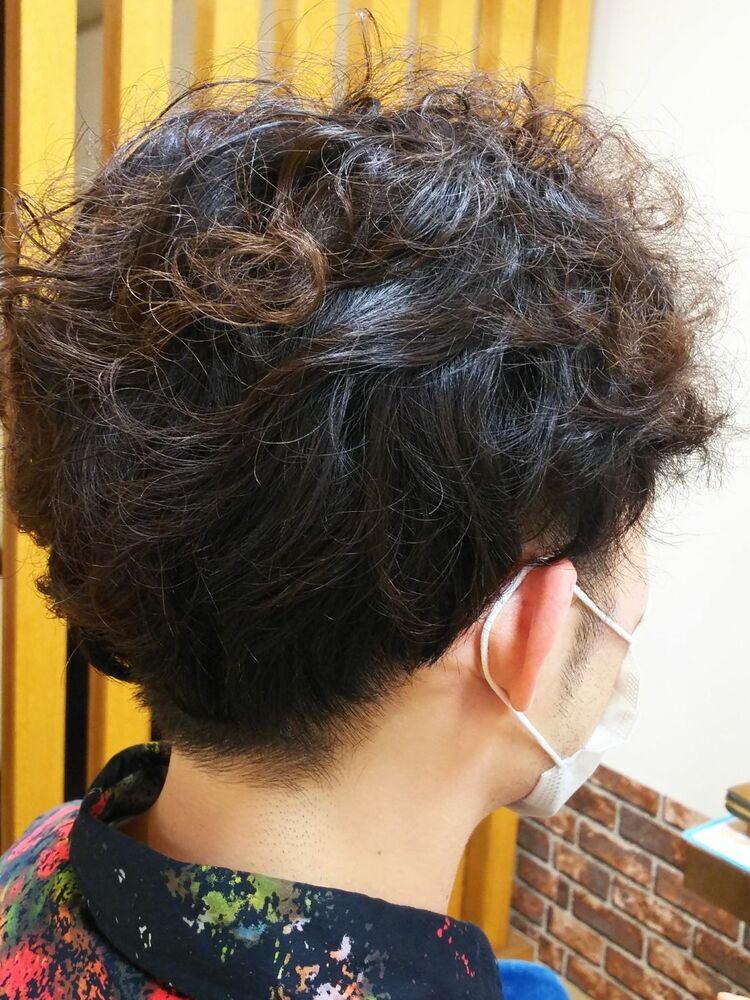 フロントにポイントを出してランダムヘアーで決めました。