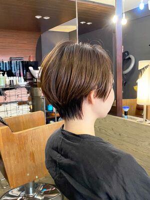 大人のハンサムショートヘア