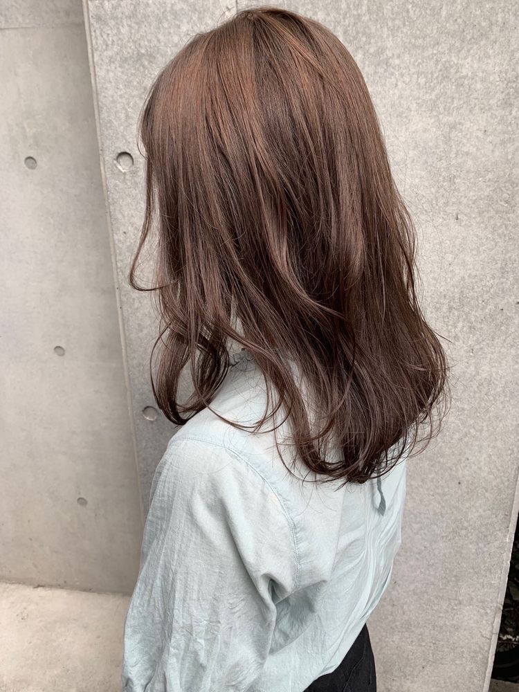 CANAAN表参道 オリーブベージュ◯透明感カラー