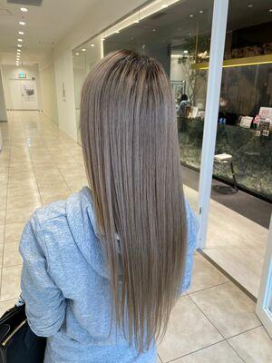 ブリーチ毛でも髪質改善⭐︎