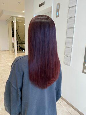 話題の髪質改善トリートメントとダメージレスのイルミナカラー