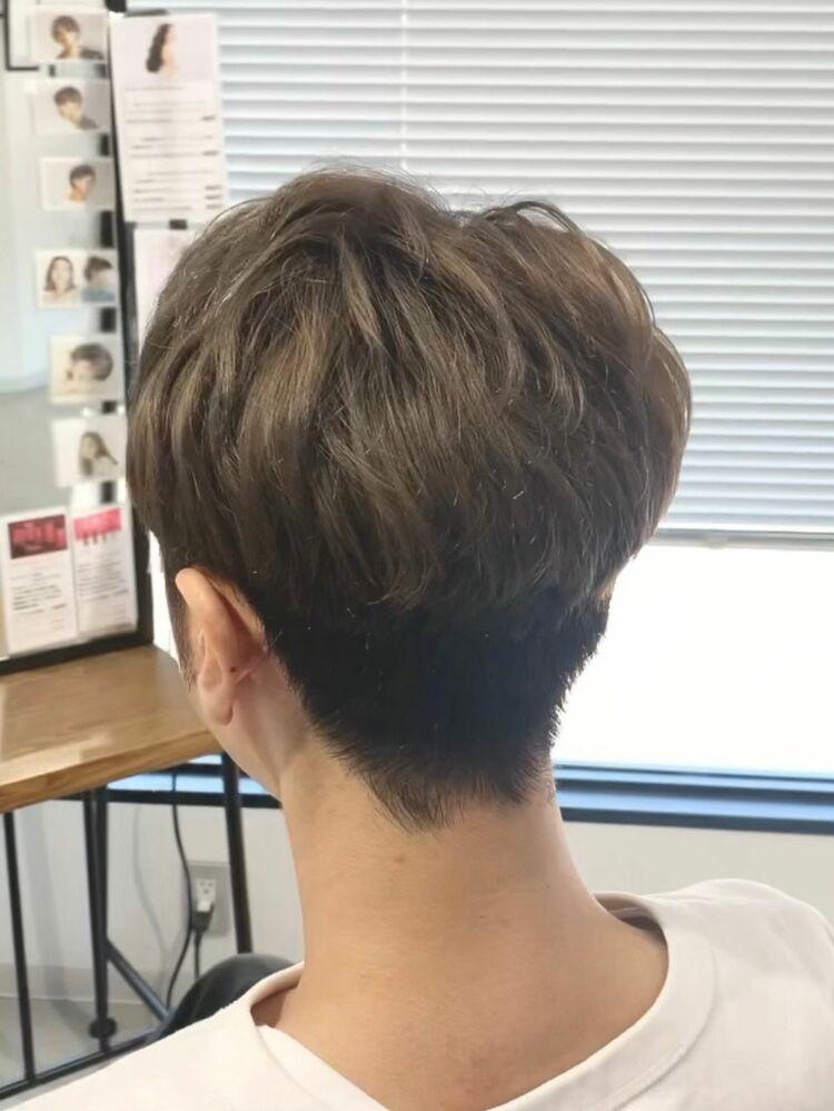 メンズショートヘア