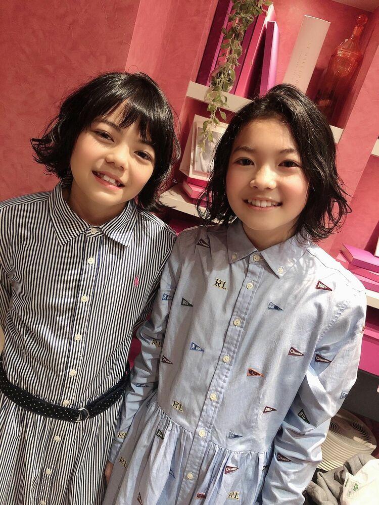 美人姉妹の2人