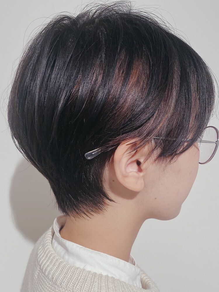 どんな髪質でもできるハンサムショート
