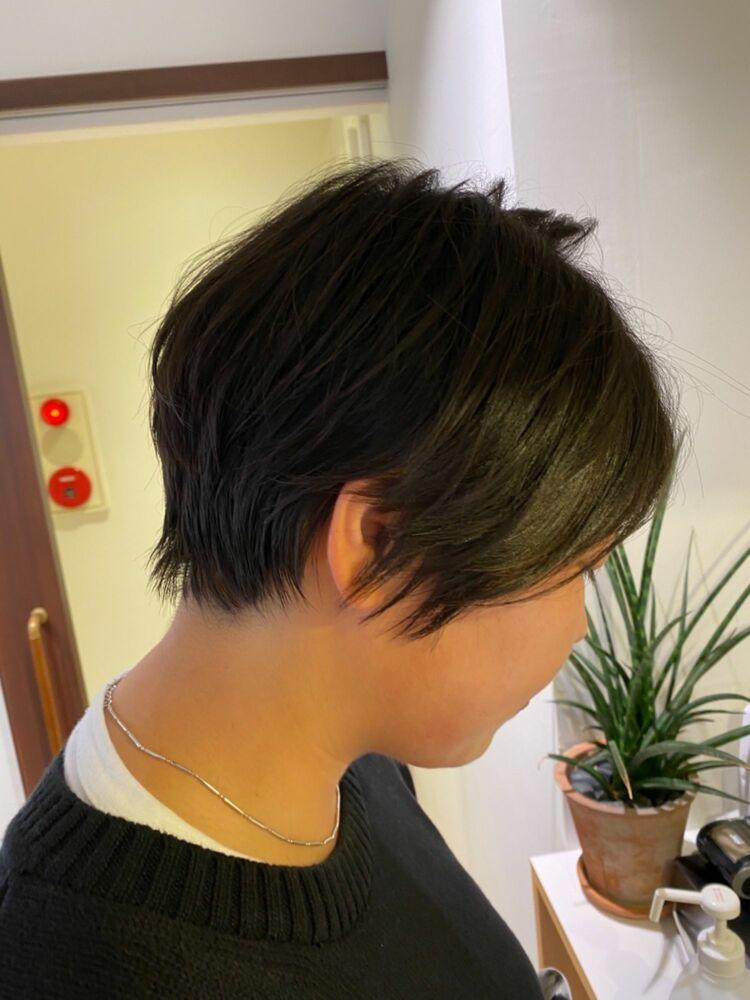 根津の美容師KENTAが作るオーダメイドショートヘア