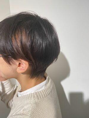 どんな髪質でもやれる骨格補正ショート