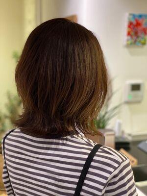ボブが得意な美容師 KENTA根津 美容室 Batta03-5809-0035