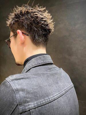 刈り上げスタイル 男性髪型