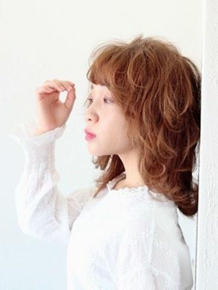 今流行りである、ウルフスタイル!!!動きのあるニュアンスレイヤースタイル!!