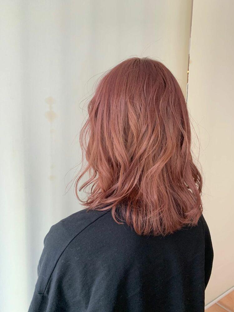 ハイトーン Bordeaux pink カット フルカラー4400円