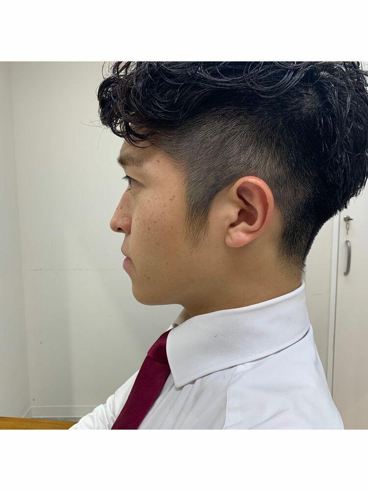 〜フェード×パーマ〜