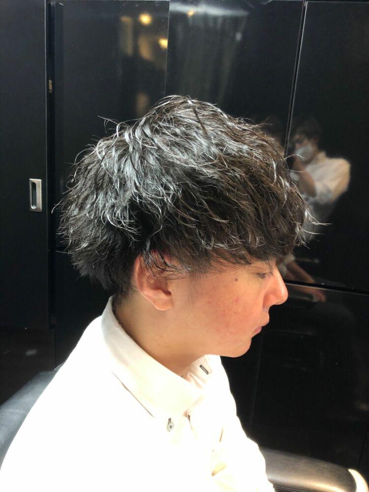 ビジネスシーンでも◯ツイストスパイラルパーマ!ヒロ銀座/神田/理容室