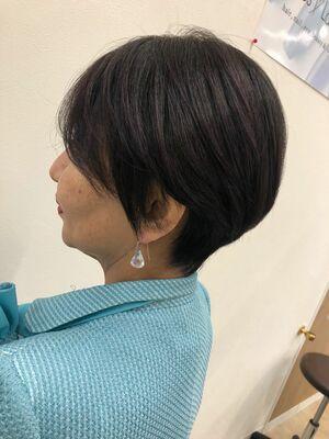 ハンサムショートヘアーで、できる女性ヘアー☆