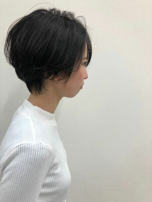 ハンサムショートヘアーでクール可愛いヘアー☆