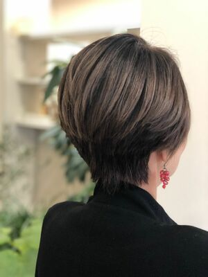ハンサムショートヘアーで大人色&ビジネスヘアー☆