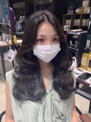 20代30代 大人可愛い 韓国風 ふんわりレイヤー