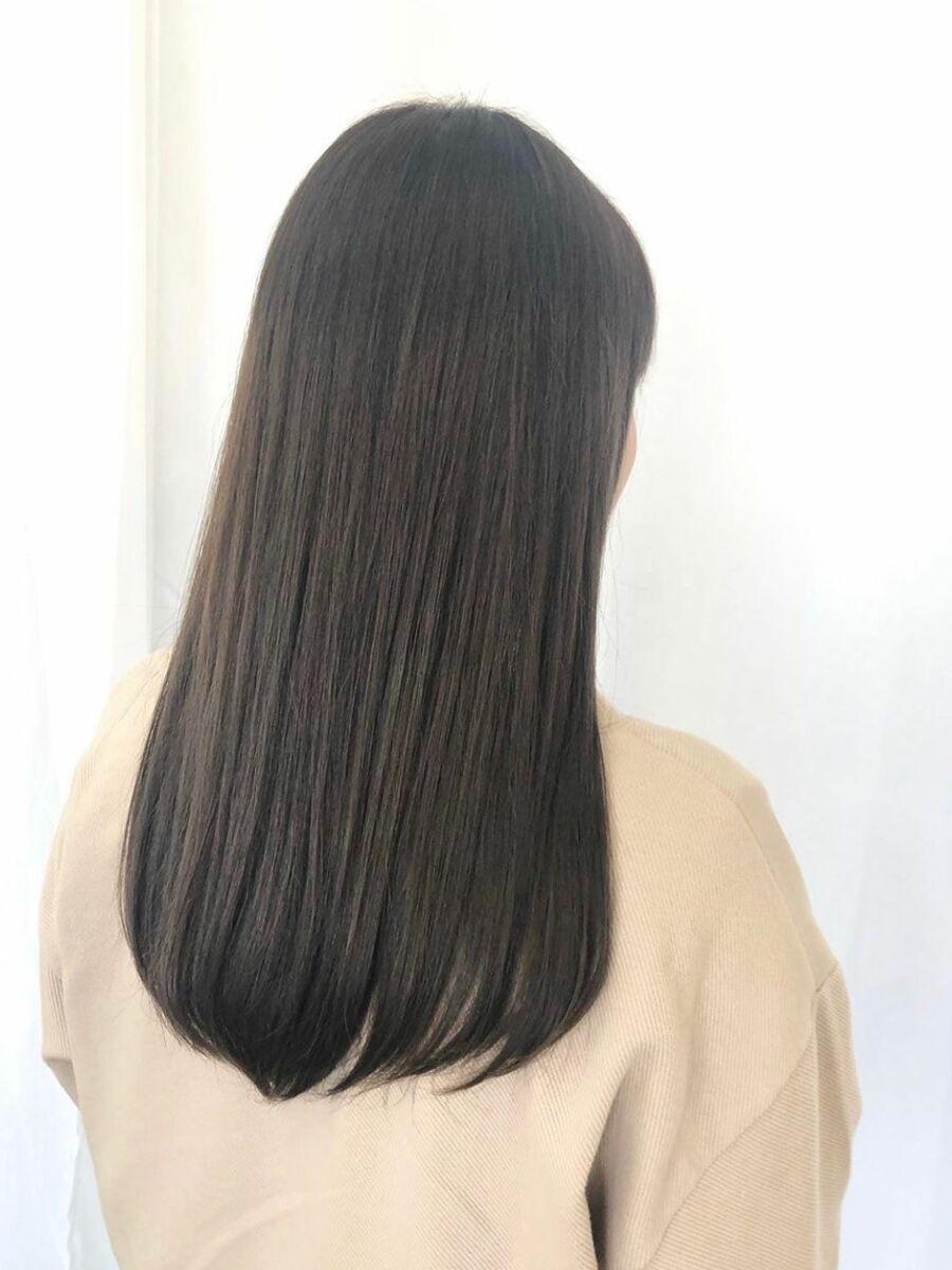 ナチュラルツヤ髪