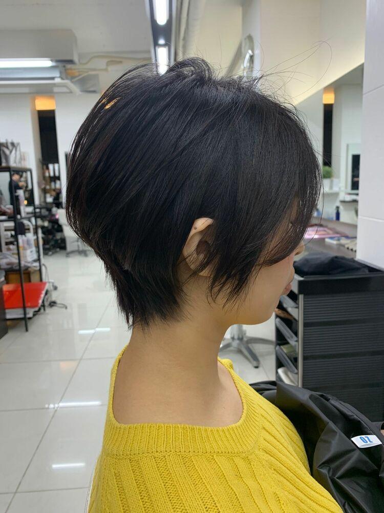 Loco hair shop大人かっこいいショートスタイル