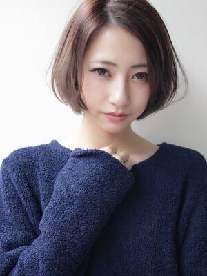 Loco hair shop ひし形シルエットの愛されショートボブ