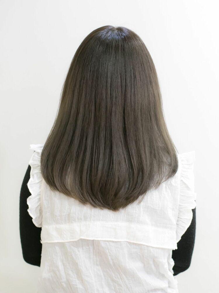 『髪質改善』グレージュ