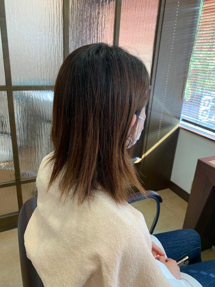 『髪質改善』トーンダウンカラー
