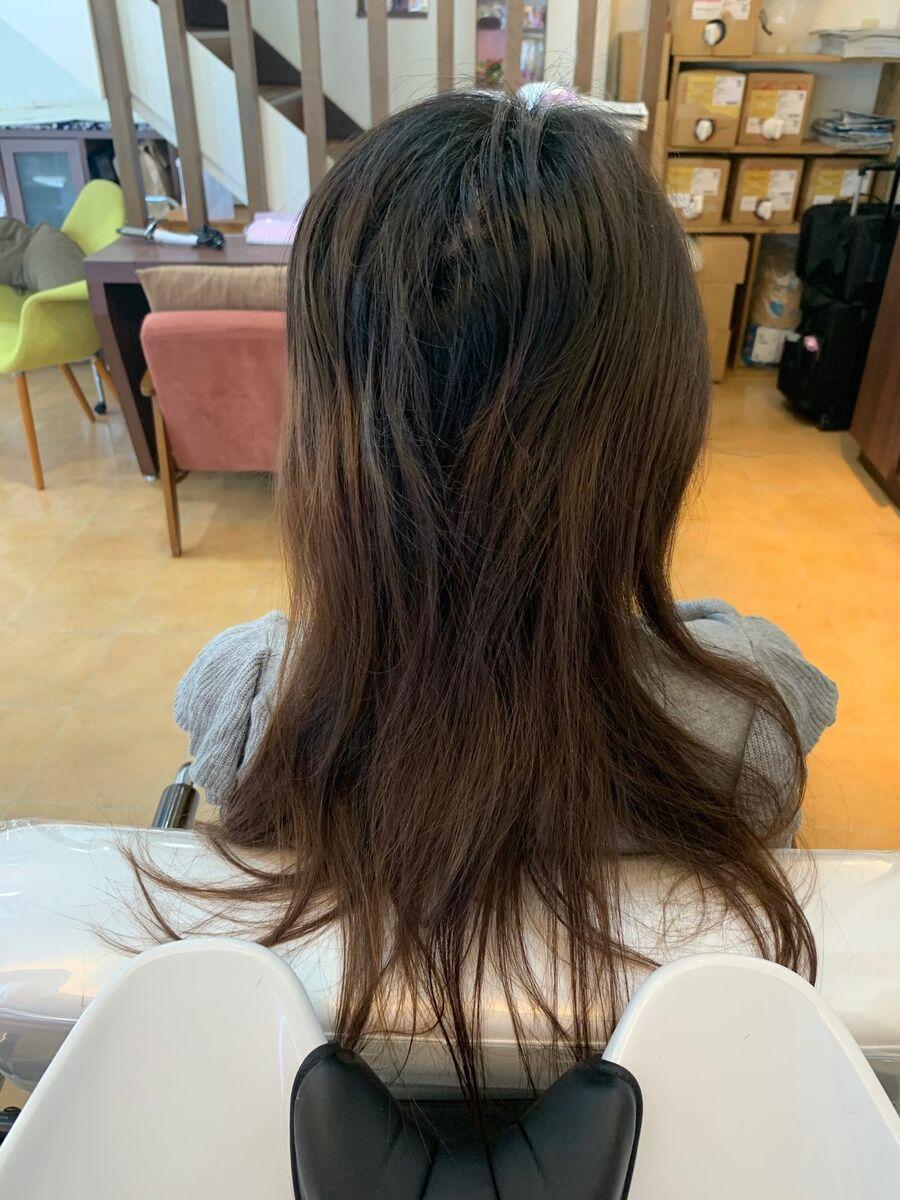 『髪質改善』外国人風ナチュラルグラデーション