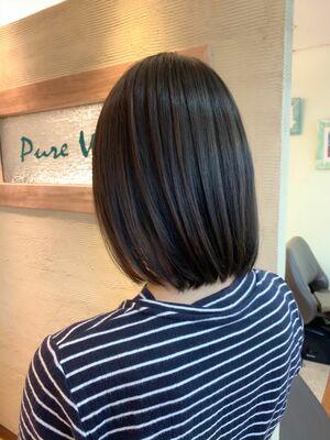『髪質改善』ショートボブ