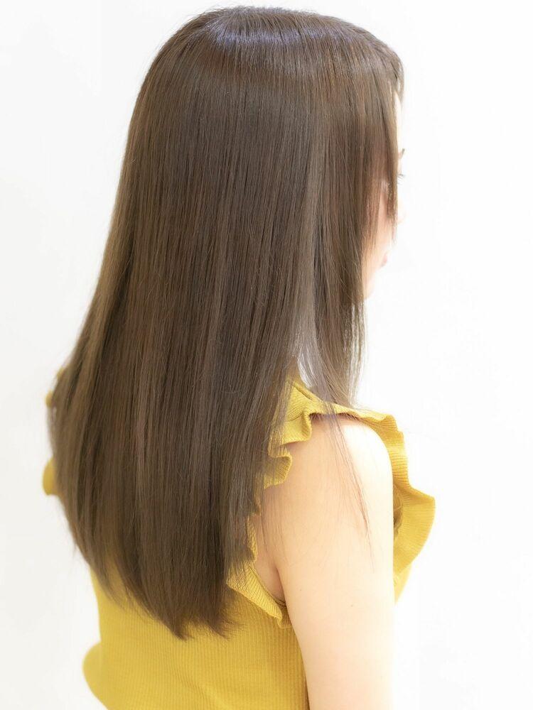 『髪質改善』サマーベージュ