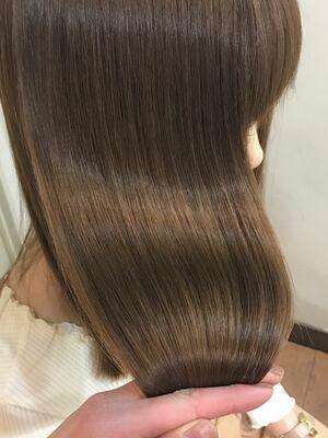 『髪質改善』艶感ベージュ