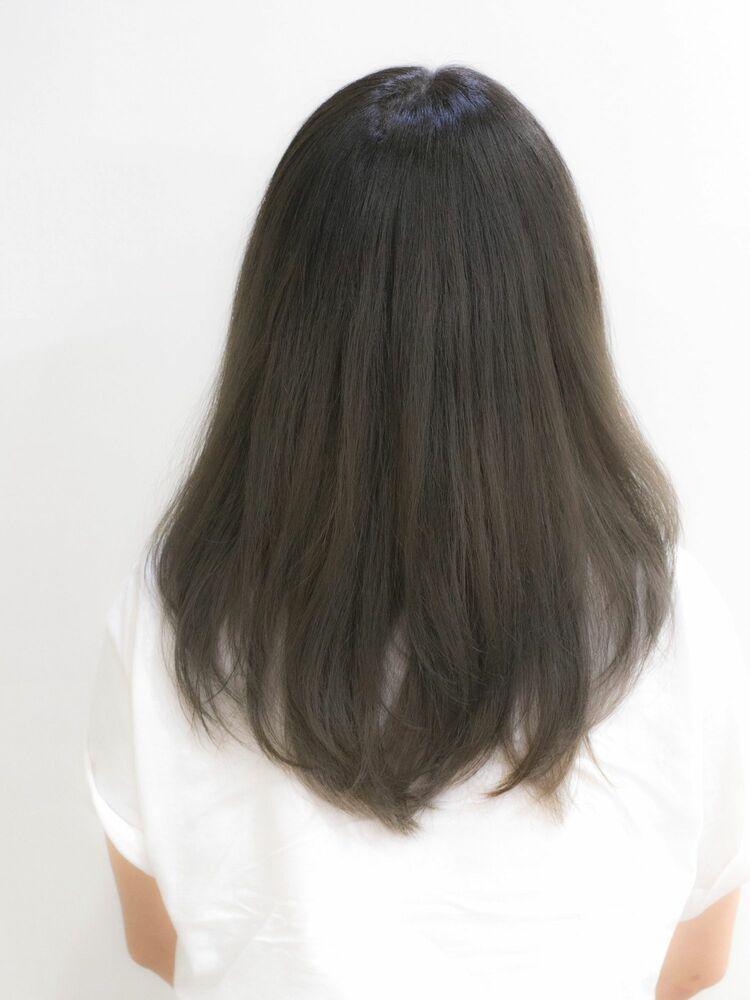 『髪質改善』レイヤーグレージュ