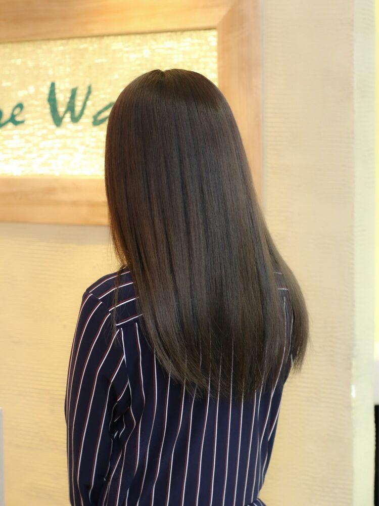 髪質改善フレンチベージュ