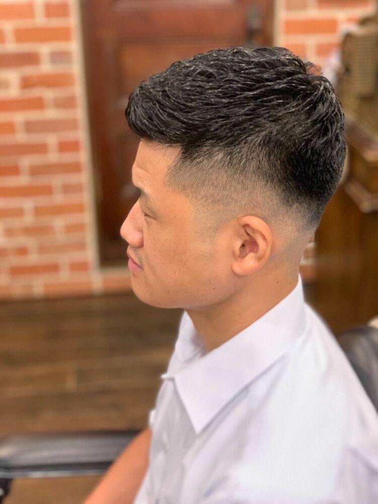 スキンフェード✖️形状記憶パーマ/ヒロ銀座/barber shop新宿/