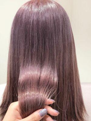 ヴェールパールピンクで透明感溢れるpinkカラー。 Instagram @allys_maria