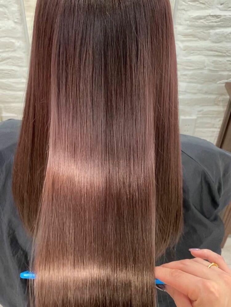 髪質改善トリートメントで艶髪☆インスタ@allys_maria
