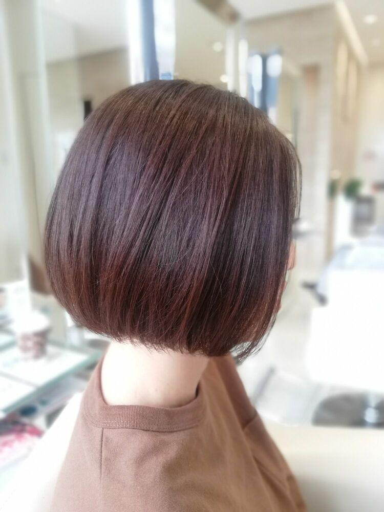 〈ZELE上尾店〉  人気上昇中☆前髪なしミニボブ