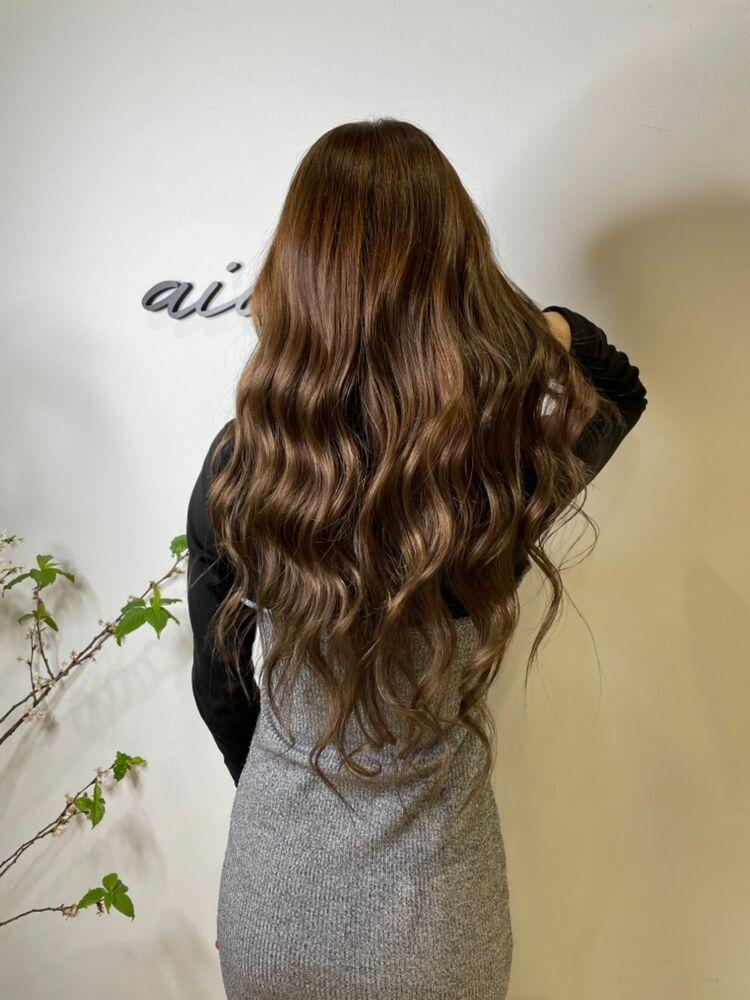 髪質改善水素トリートメント&ケアカラー