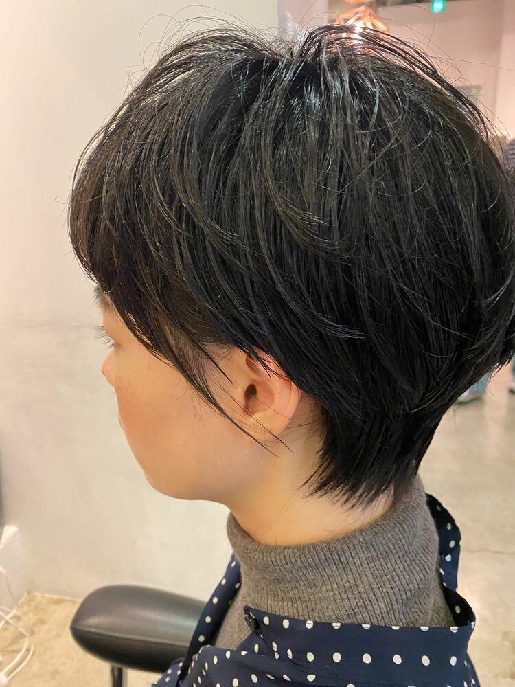 綺麗なショートヘア