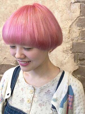 ピンクマッシュ