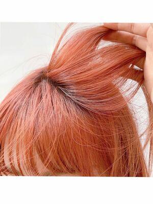 シャーベットオレンジカラー